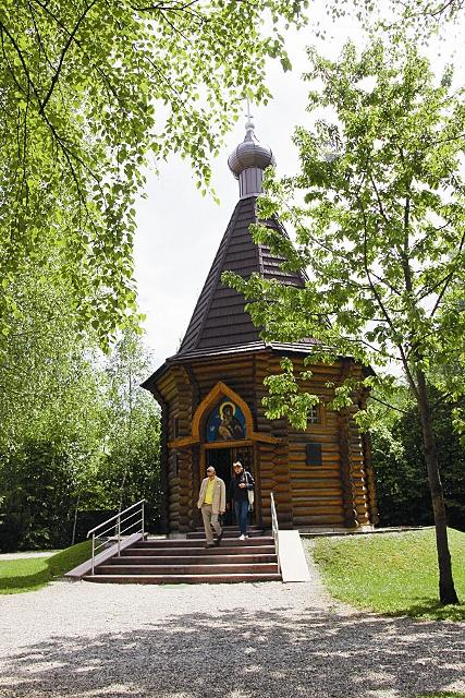 Православная часовня в честь Воскресения Христова построена в память обо всех погибших в концлагерях Третьего рейха