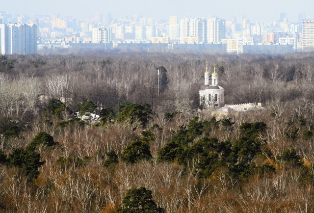 Всего 10 минут пешком от шумного проспекта с многоэтажками-новостройками и вы в Кузьминках – заповедном «островке» столицы.