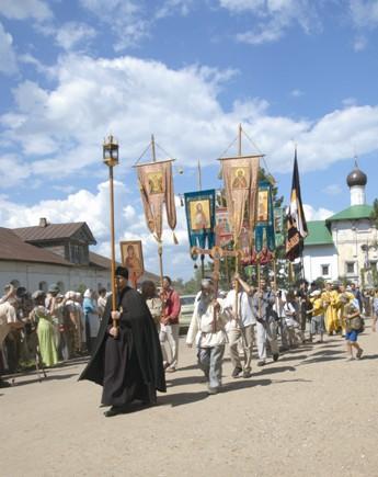 Крестный ход в 2013 году совершался 24–28 июля