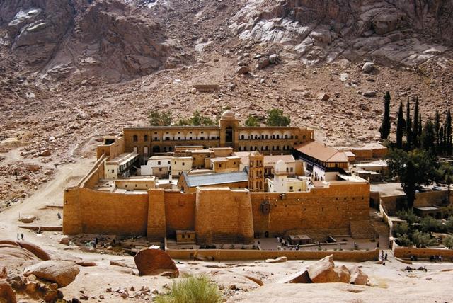 Монастырь святой Екатерины у горы Синай