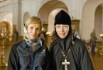 С настоятельницей монастыря «Новое Шамордино» игуменией Марией