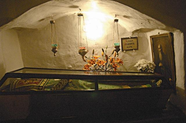 Усыпальница монахов