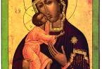 По преданию, этот образ был написан евангелистом Лукой