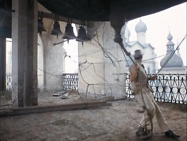 Бунша запутался в колоколах Воскресенского собора
