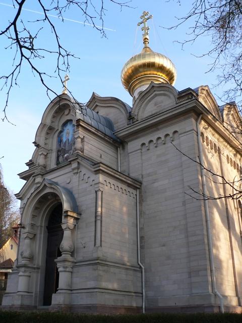 Строительство храма взяла под свое покровительство внучка Николая I Мария Максимилиановна Романовская, герцогиня Лейхтенбергская