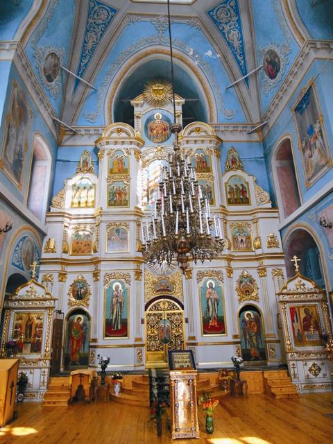Интерьер Спасского собора