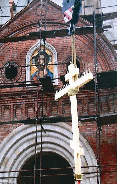 Крест для нового храма