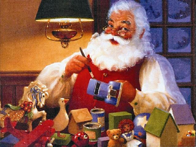 Новый Санта стал невероятно популярен в Америке