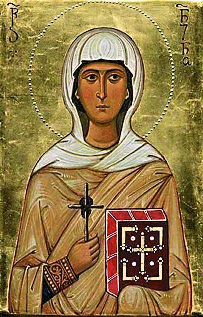 Икона святой равноапостольной Нины – покровительницы Грузии