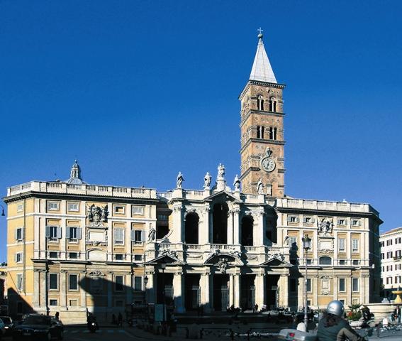 Церковь Санта-Мария- Маджоре в Риме