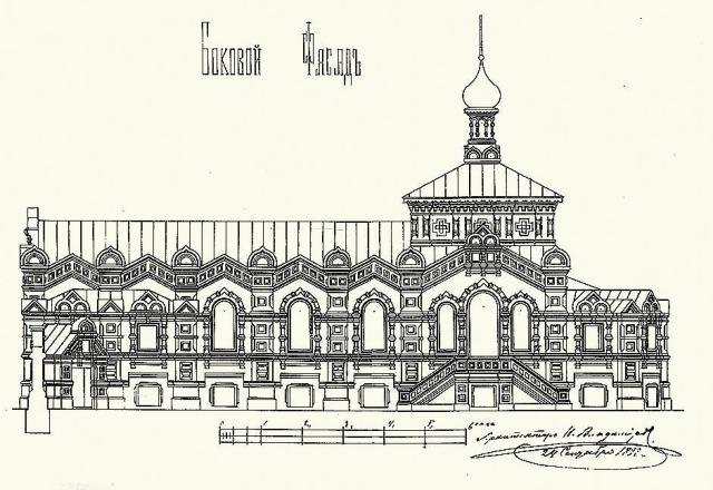 В 1889 году княжна Александра Владимировна обратилась к Епархиальному начальству с просьбой о возве- дении приюта в ранг женского общежительного монастыря