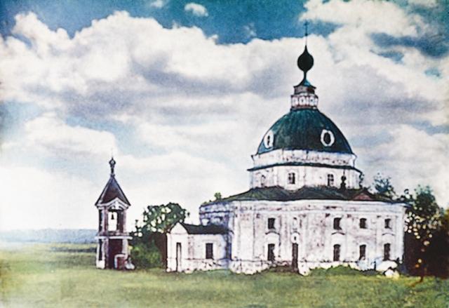 Михайловский храм до разрушения. 1920 год