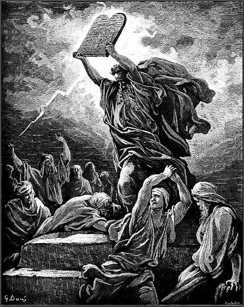 Святой Моисей со скрижалями Завета
