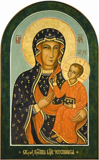17 июля 2002 года, в день памяти святых Царственных страстотерпцев, икона Божией Матери «Чен сто хов ская» неожи- данно замироточила