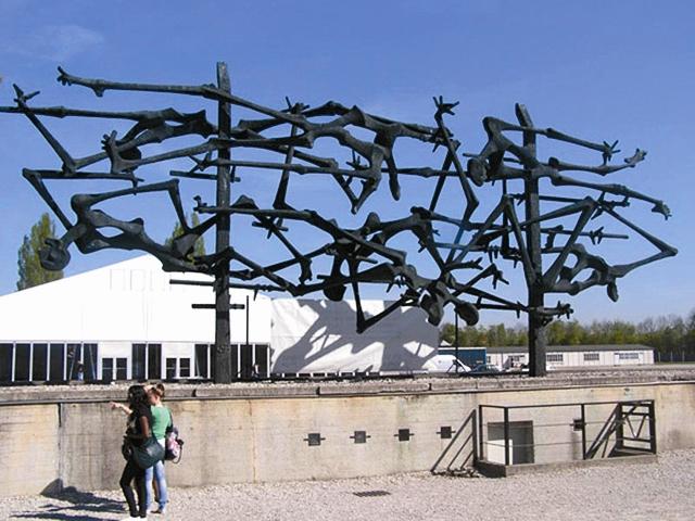 Памятник жертвам Дахау
