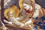 Среди разбросанного сена и соломы, в обстановке, лишенной не только земного величия, но даже обыкновенного удобства, пришел в мир Богочеловек, Спаситель мира