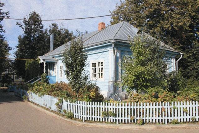 Здесь жила Паша Саровская