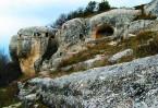 Эски Кермен является самым живописным пещерным городом Средневековья.