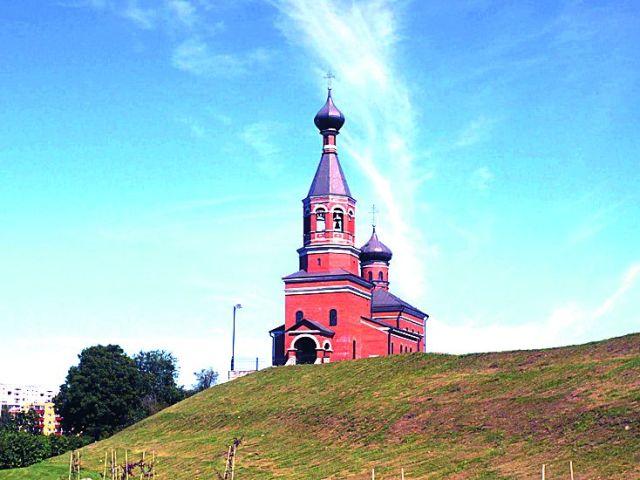 храм в г. Маарду в Эстонии