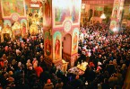 Мы все сегодня являемся не просто свидетелями, но и участниками деятельного возрождения в народе веры Христовой. Теперь у нас всех есть общее святое дело – строительство храмов.