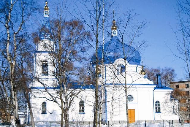 Храм в Сортавале