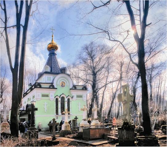 Часовня прп. Ксении на Смоленском кладбище