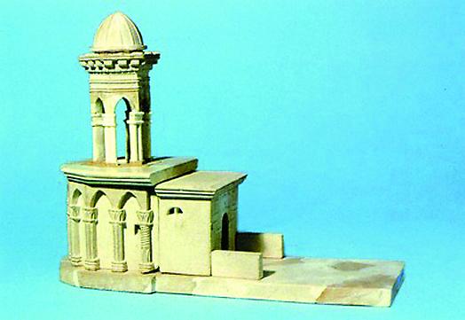 Модель часовни Гроба Господня после 1555 г. Кон. XVI — нач. XVII вв.