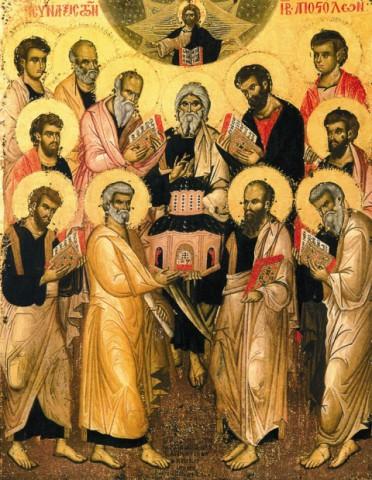 Собрания учеников после Вознесения Христа