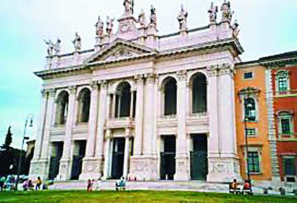 Церковь Сан Лоренцо в Риме (Святая лестница из дома Понтия Пилата)