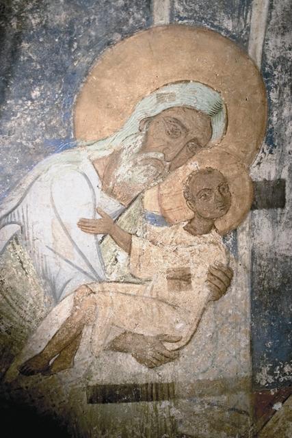 В Иерусалимском храме Божию Матерь встретил праведный старец Симеон
