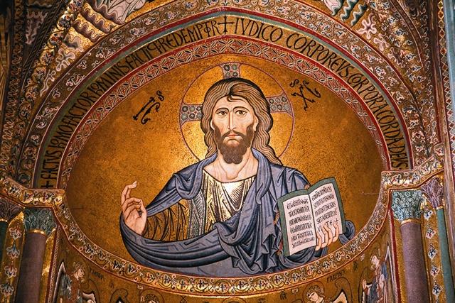 а Сицилии, как нигде в другом месте, понимаешь, что когда-то (до 1054 года) разделения Церквей не было