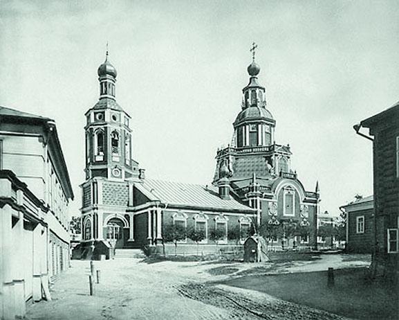 Храм Иоанна Воина. 1882 год