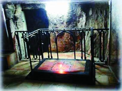 Место обретения Креста, Святая Земля