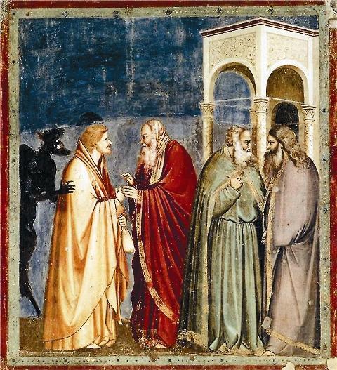 Иуда предлагает фарисеям предать Христа