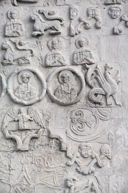 Каменная «роспись» собора