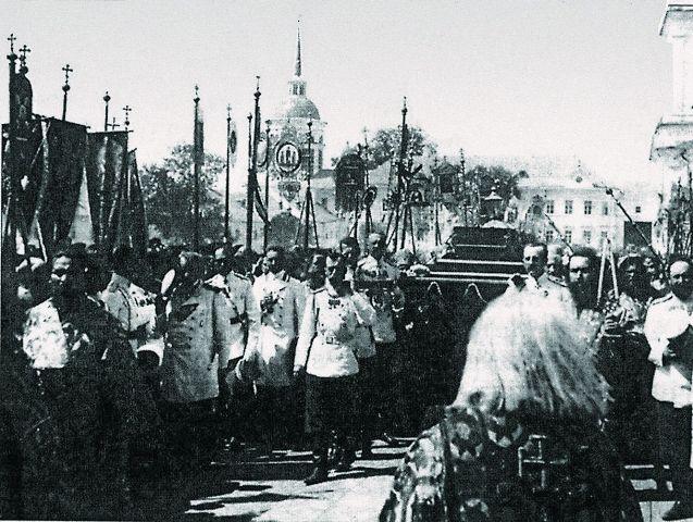Прославление прп. Серафима Саровского, 1903 год