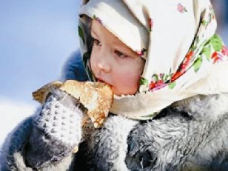 В Коломенском всегда можно подкрепиться вкусными горячими блинами