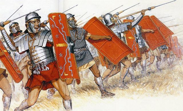 Героический Фивейский легион, дислоцировавшийся в Египте, полностью состоял из христиан