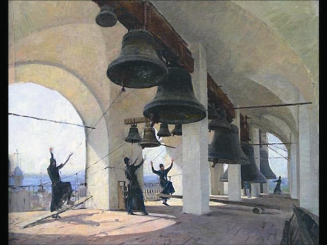 В России колокола появились почти одновременно с принятием христианства