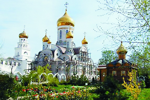 Свято-Ильинский монастырь в Одессе