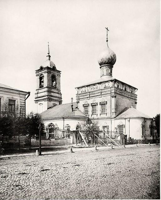 Храм Николая Чудотворца в Новой Слободе