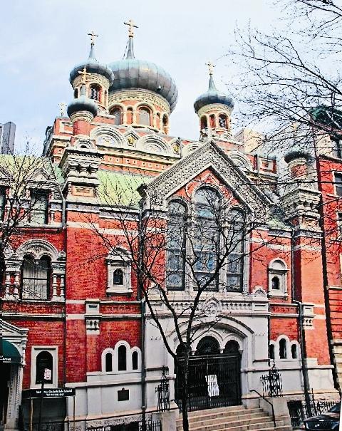 Собор, построенный по благословению будущего Патриарха  Тихона стал памятником  архитектуры Нью-Йорка