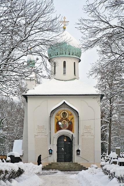 Успенская церковь на Ольшанском кладбище