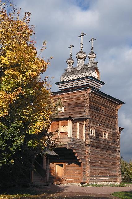 Деревянный храм Георгия Победоносца