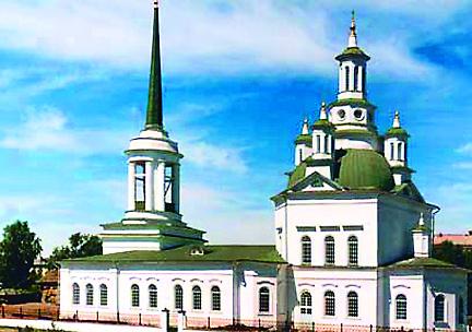 Храм св. Екатерины в Алапаевске