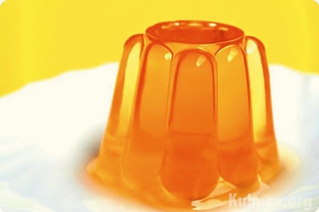 Апельсиновое желе «Солнечный круг»