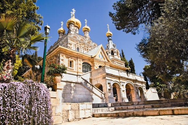 Храм святой Марии Магдалины в Иерусалиме