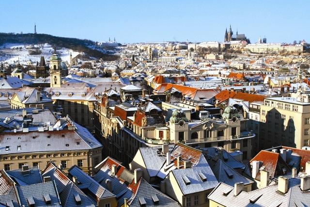 После большевистской революции Праге суждено было стать одним из центров русской эмиграции