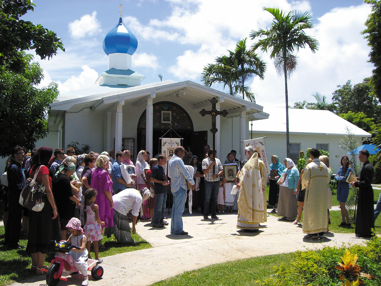 Престольный праздник в Свято-Владимирской церкви  в Майами
