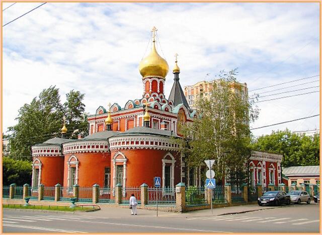 Храм иконы Божией Матери «Нечаянная Радость» на Шереметьевской
